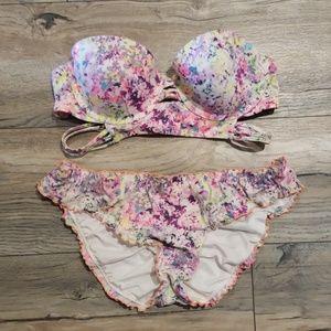 VS bikini top size 36B and bottoms size large
